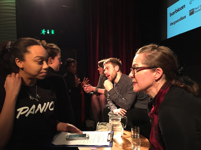 Rebecca Interivews Frances Corner London School of Fashion - GRIT copy 2